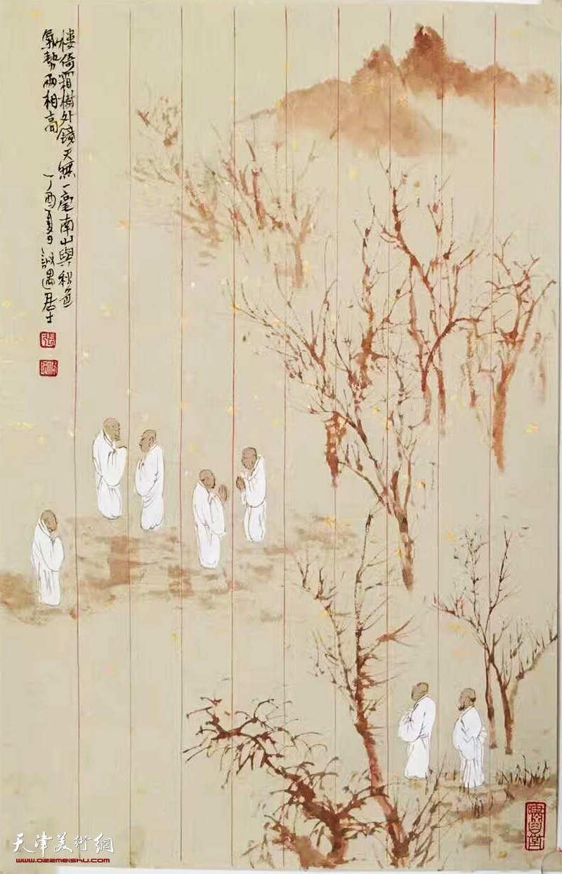 笺素之上,绮思佳构-著名画家张佩钢先生妙笔欣赏