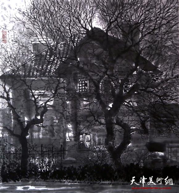 魏瑞江作品《岁月的光影之一》