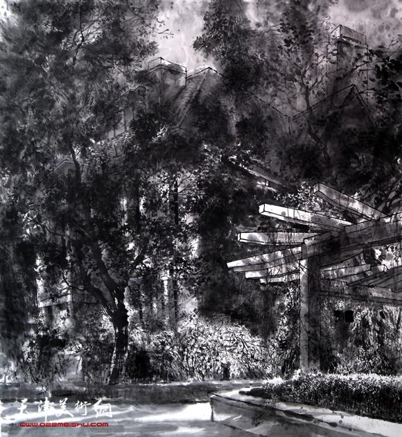 魏瑞江作品《岁月的光影之二》