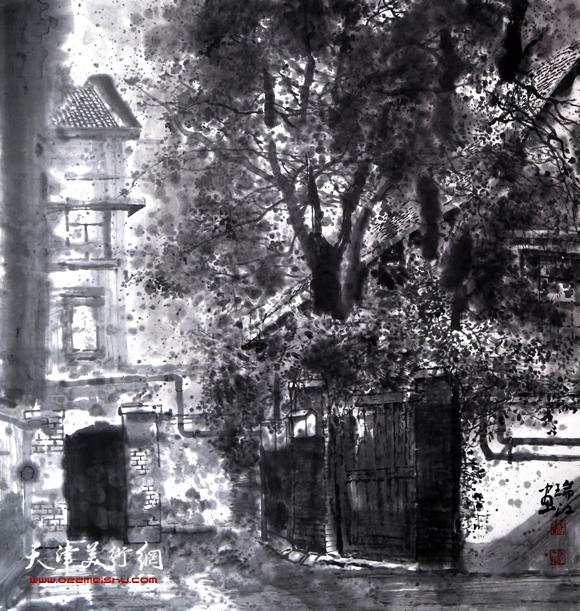 魏瑞江作品《岁月的光影之四》