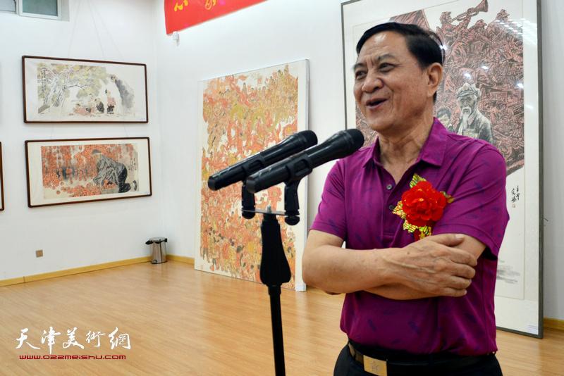 山西省原人大副主任杜五安出席仪式并宣布开展
