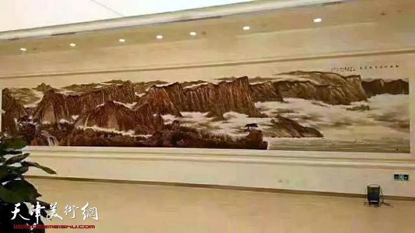 14米长、3.2米宽的恢弘巨作