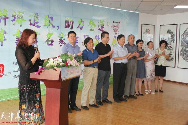 左起:张丽、董林、李耀春、李毅峰、李耀进、王振德、刘庆荣、高文红、于凤英