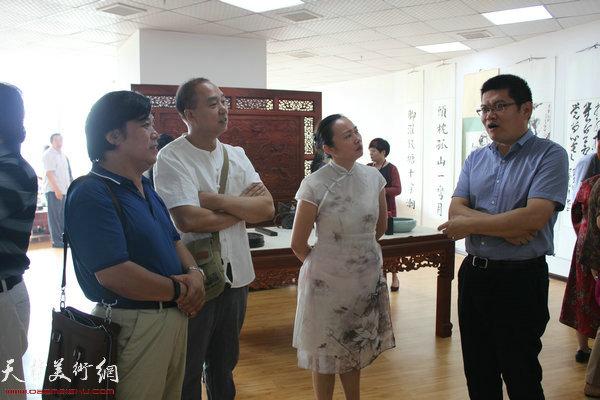 李耀春、赵雪庵、高文红、董林现场交流