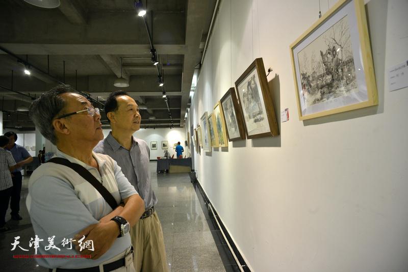 """""""添彩津城、助力全运""""城市画派主题美术展8月26日开幕。"""