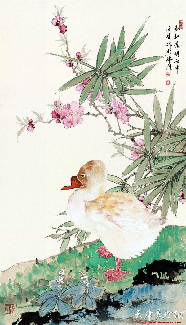 周午生 春和景明-33x64.7