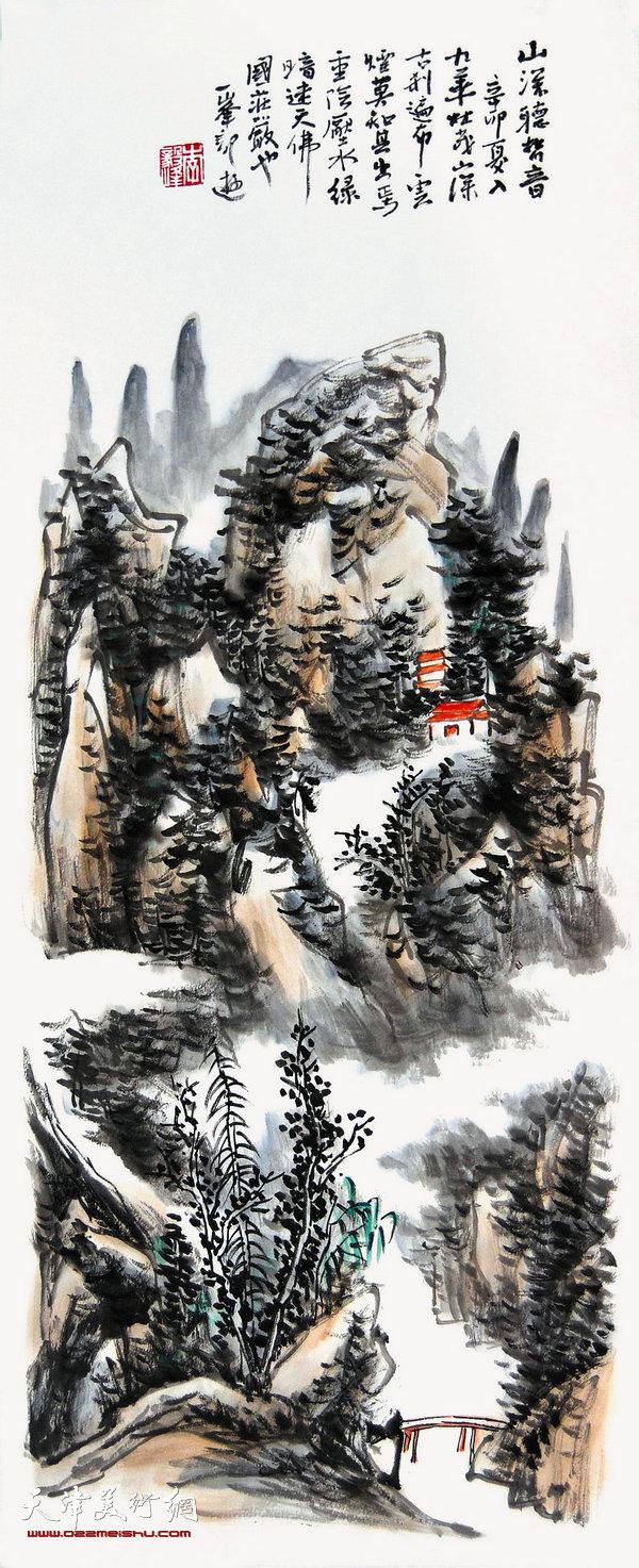 李毅峰--山深听梵音