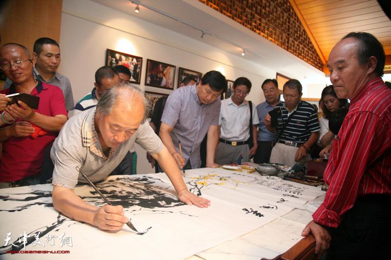 艺术走近大众-天津国画名家作品展