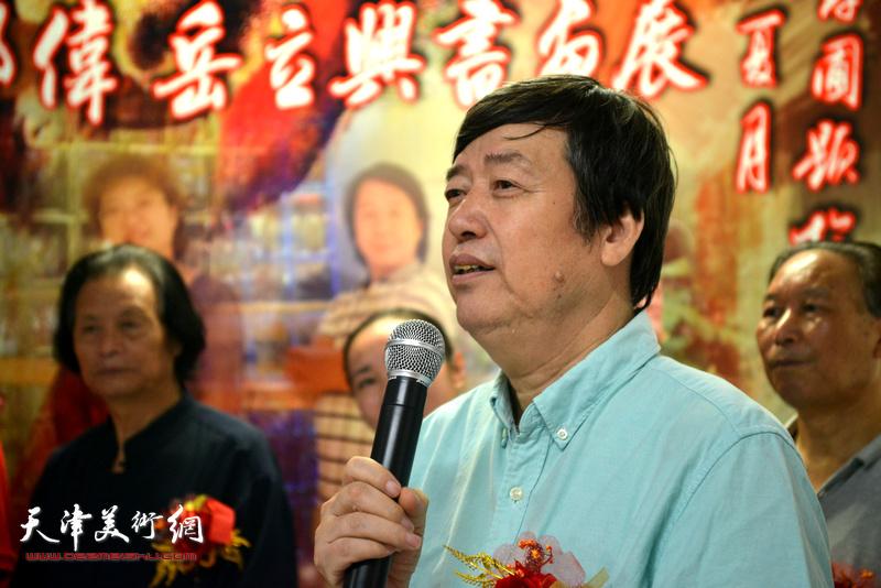 天津师范大学教授陈元龙致辞