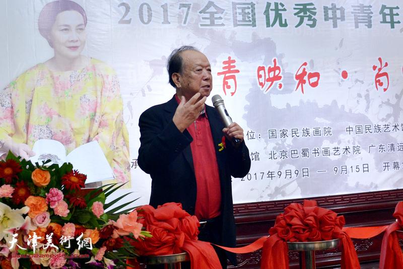 中央文史馆馆员,中国电影家协会名誉主席李前宽致辞。
