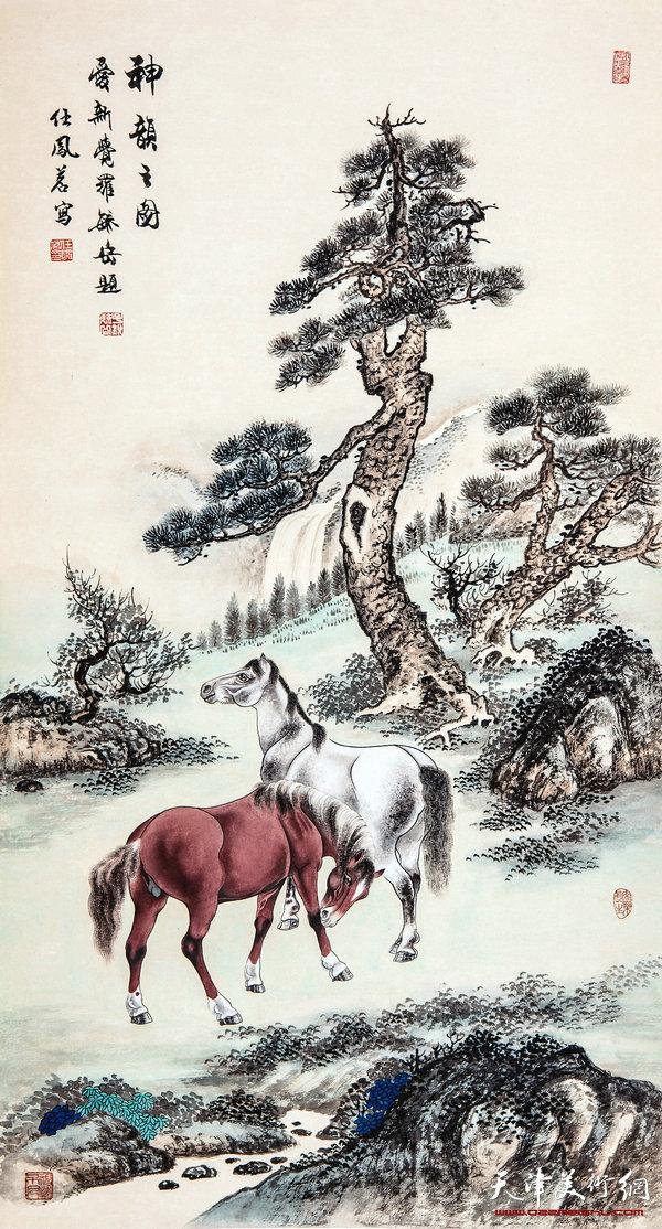 任凤茗作品-神韵之图
