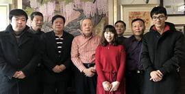 郭鸿春携弟子春节期间看望恩师王庆升、金鸿钧先生