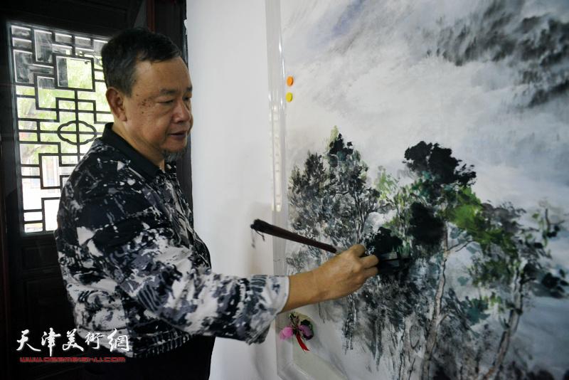 港澳台美术家协会京津冀办事处在杨柳青揭牌
