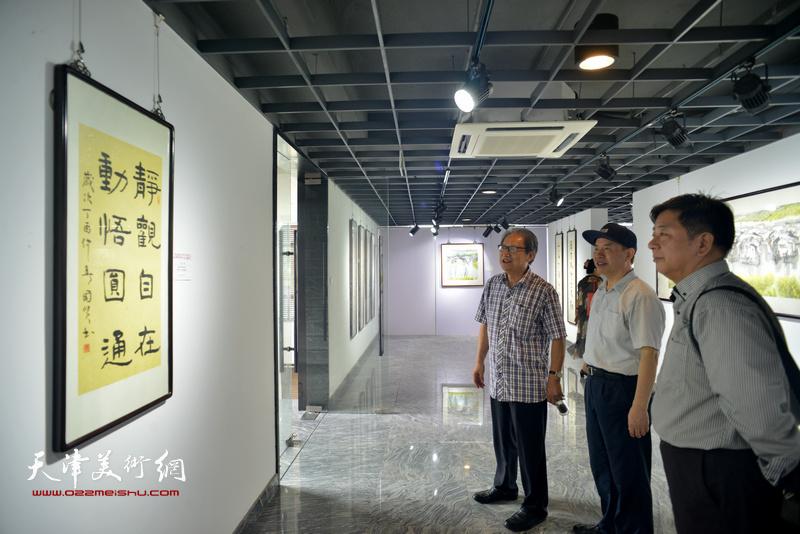 姬俊尧、王国贤书画作品联展在上海举行首轮展出