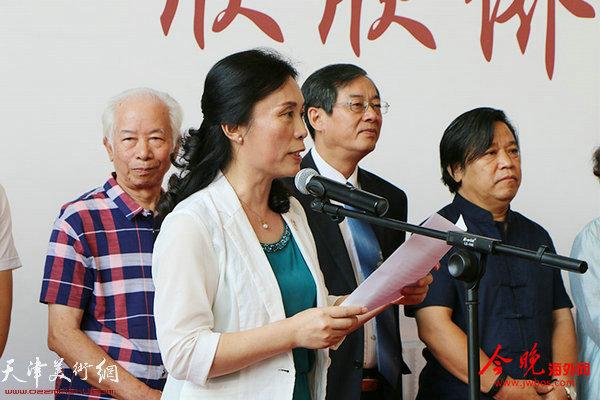 天津市侨联副主席、党组副书记陈钟林主持开幕式。