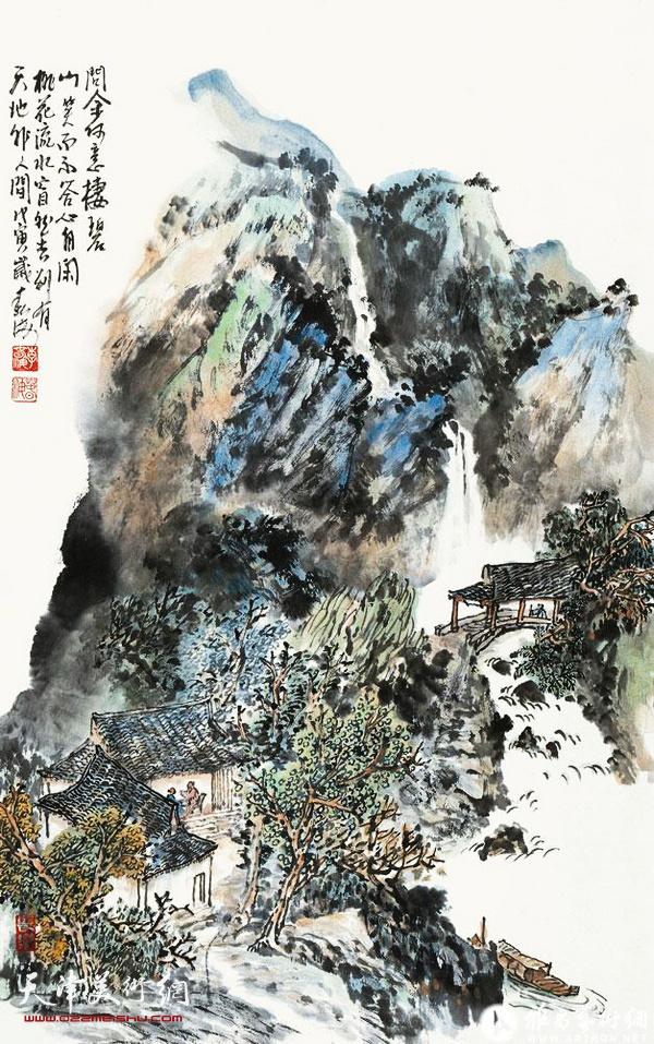 李春海作品:碧山之春