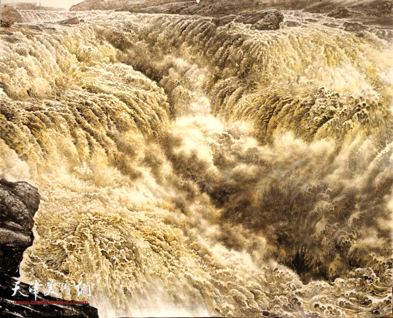 陈克永作品:黄河