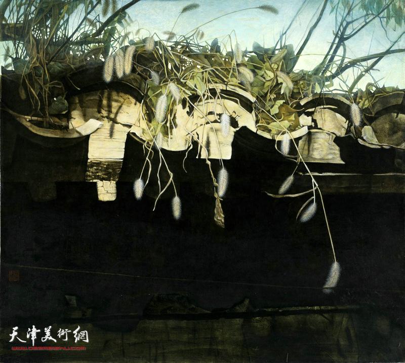 张爱玲 北京的胡同——老屋檐