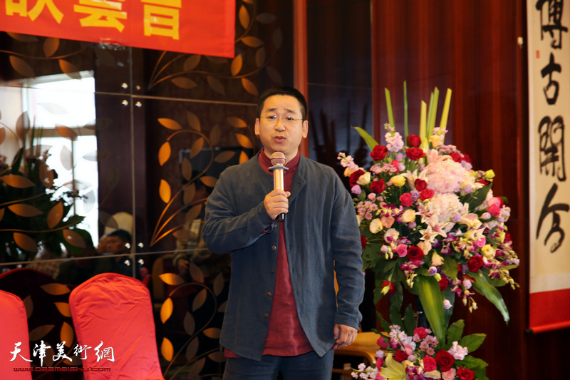 著名大写意画家刘荫祥喜收新徒 与众共庆八十大寿