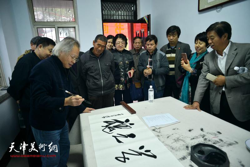 王金厚为郭守敬纪念馆题词。