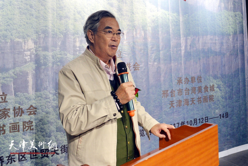 中国楹联书画院海天分院党组书记张建国