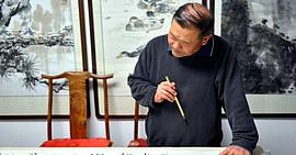 著名画家董铁山:线条的运用让作品生动灵气