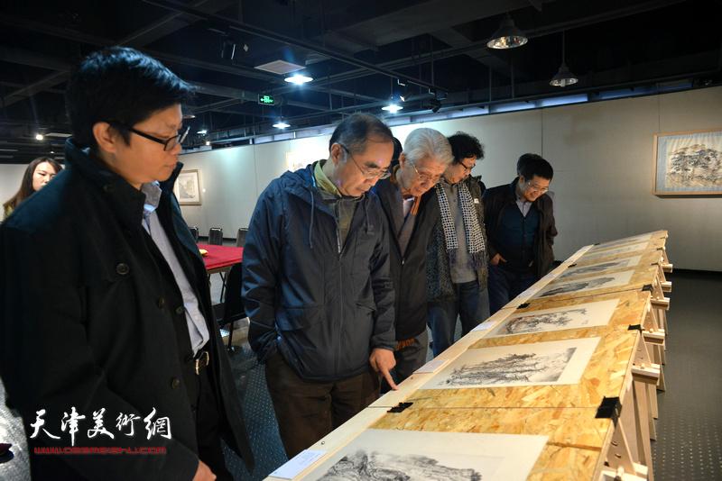 著名画家王颂余山水画作品研讨会