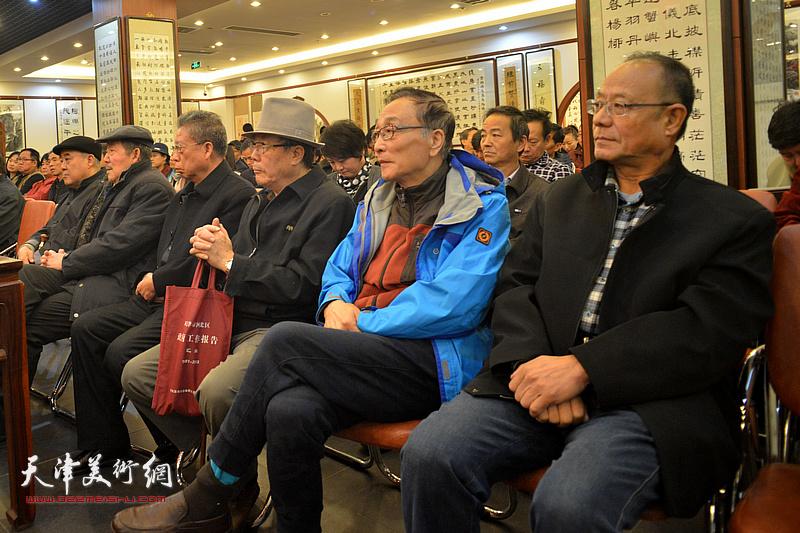 天津市楹联学会召开学习贯彻十九大精神动员会现场。