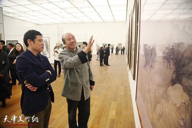 放歌新时代-到人民中去天津市写生美术作品展