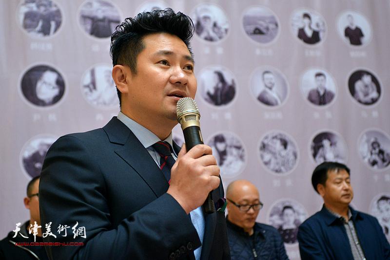 开幕仪式由天津电视台著名节目主持人、书法家朱懿主持。