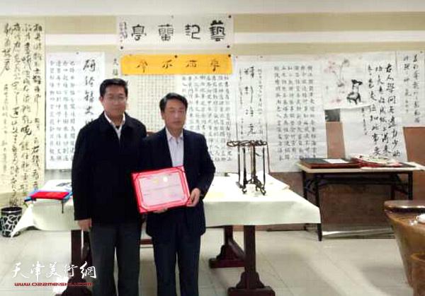 著名学者、书法家刘俊坡先生受聘河北大学教授