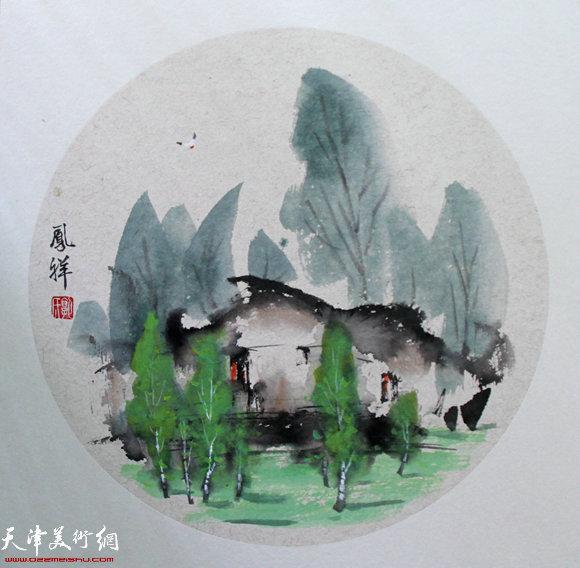 郭凤祥国画作品