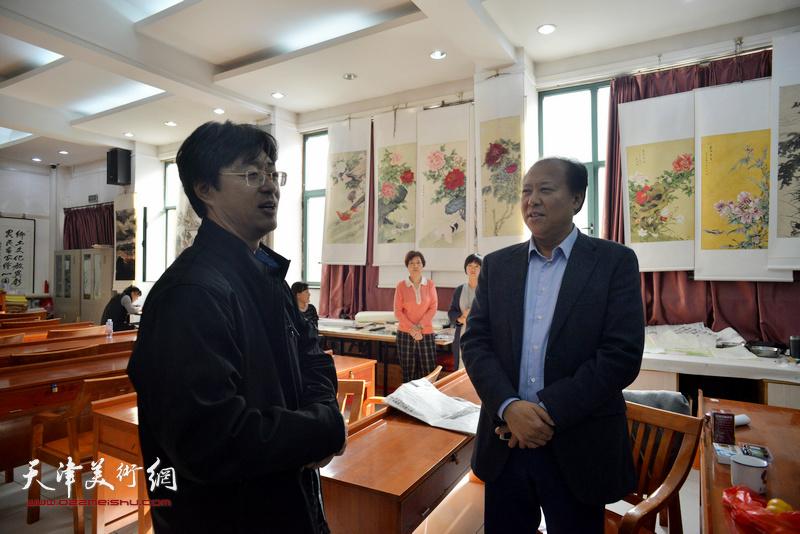 中华书画家杂志社深入基层调研
