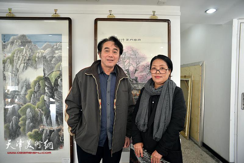 江山多娇——赵树松山水画展