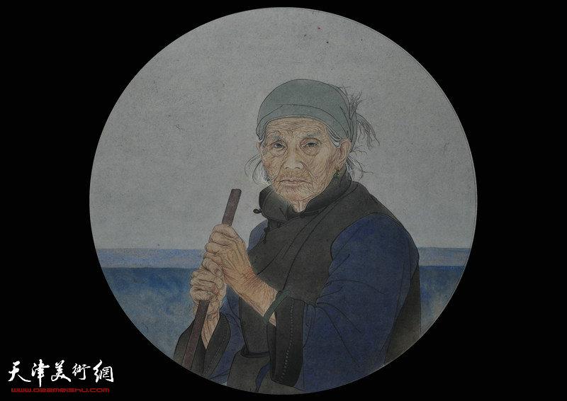 赵雪-画家-《千里寄相思》