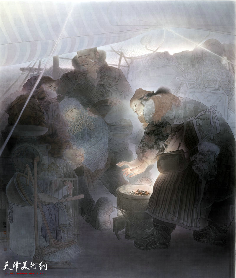 周乐-画家-《曙光》