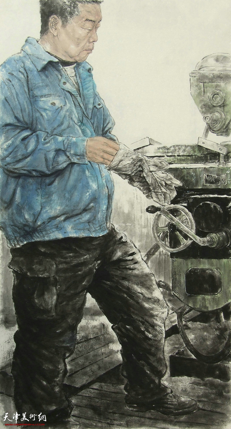 王宁-画家-父亲的岗位