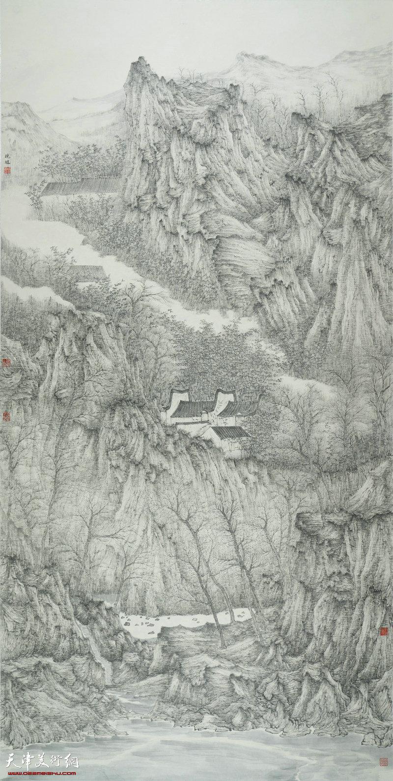 张晓琎-画家-《境》
