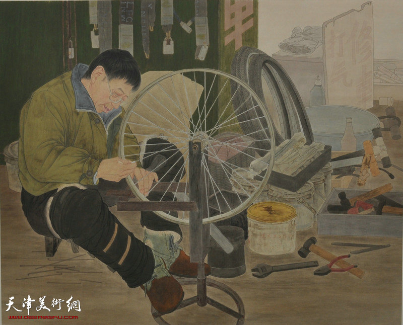 刘峰潮-学员-《人生百态--修车》