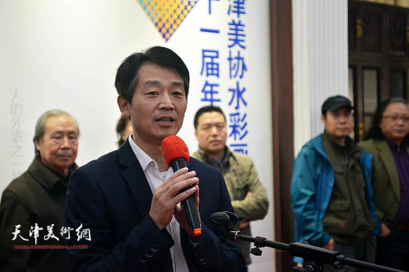 西洋美术馆馆长李响致辞。