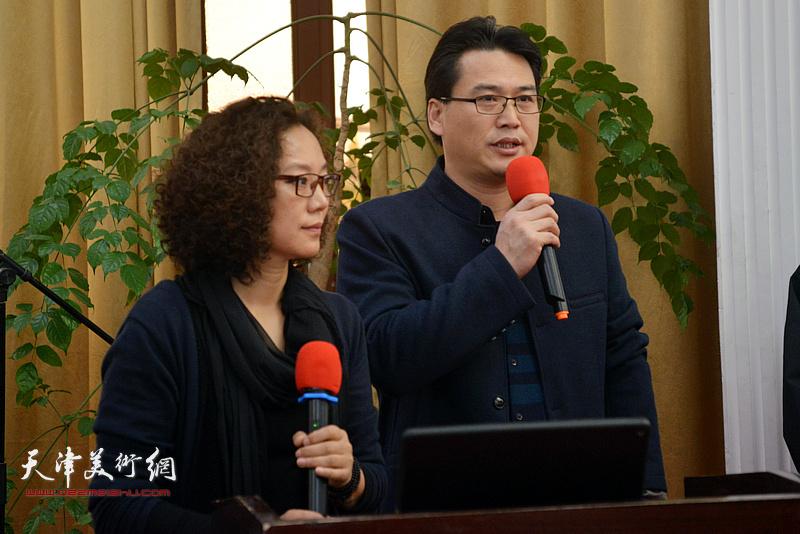 开幕式由专委会副会长滑寒冰、专委会副秘书长陶香莲女士共同主持。