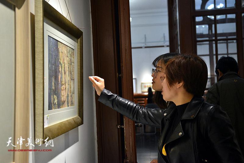 2017天津美协水彩画专委会第十一届年展在西洋美术馆开展。