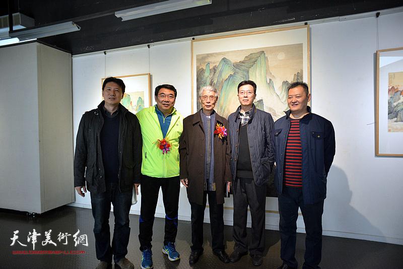 左起:张福有、孙军、杨德树、许烨鸣、白鹏。