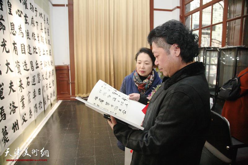 对话魏碑—王树秋书法艺术展