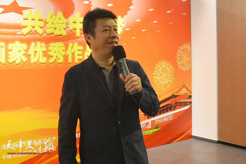 今晚报社副社长、天津北方文化产业投资集团股份有限公司董事长王克