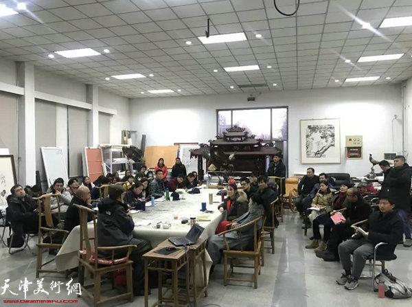 吴宪生教授与学员交流