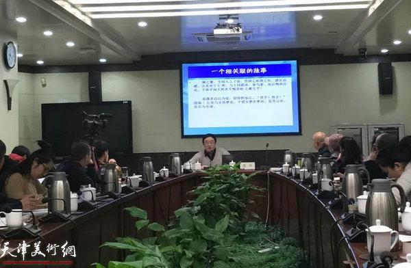 陈洪教授讲座掠影