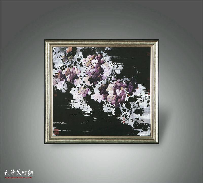 王其华陶瓷版画作品