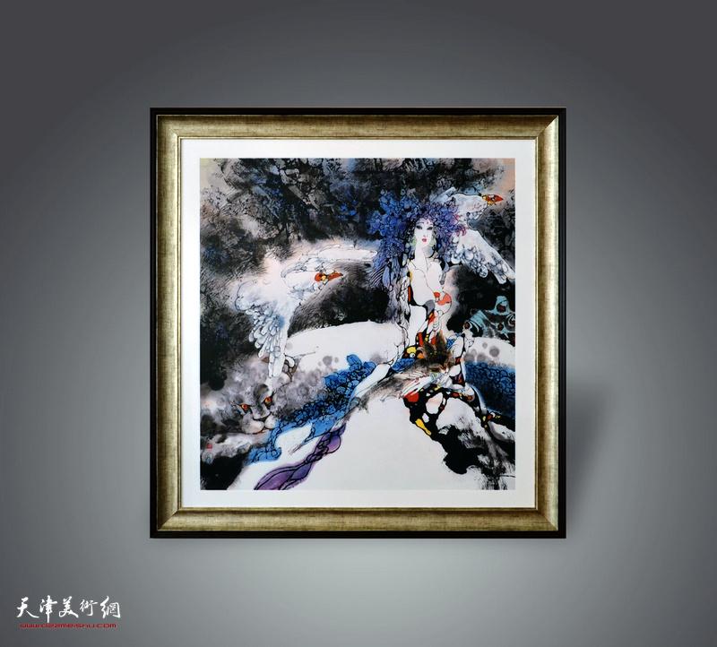 马寒松陶瓷版画作品