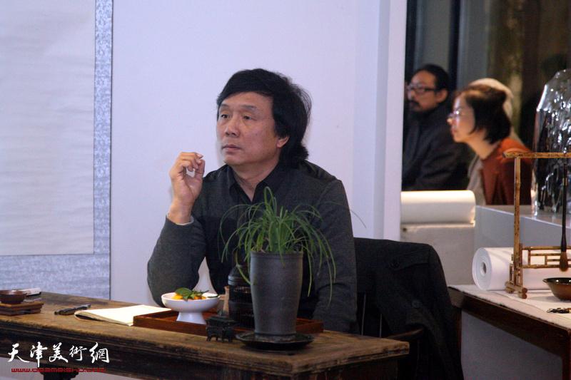 艺术家王琨做客竹间书院